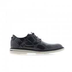2-Zapato mercurio Tie - Piel-koda...