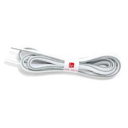 Cordón redondo - Blanco-gris perla
