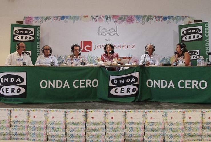 Isabel Gemio en Jose Saenz presenta el proyecto FEEL