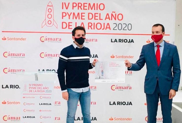 Premio Pyme del año de la Rioja 2020 Jose Saenz