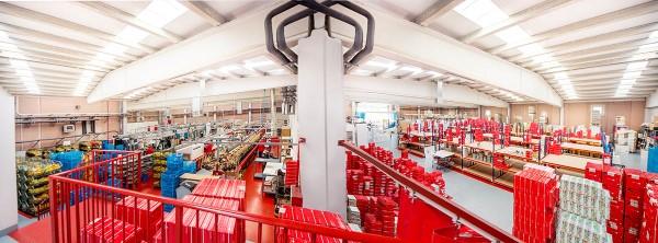 Fábrica de calzado JOSE SAENZ en Arnedo, La Rioja