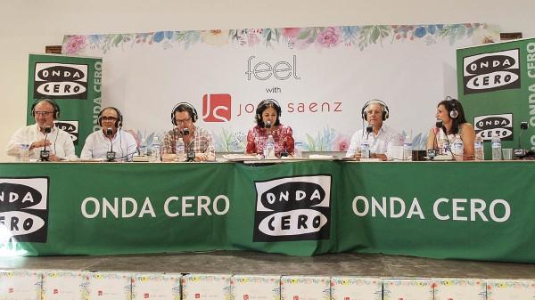 Isabel Gemio en las instalaciones de JOSE SAENZ