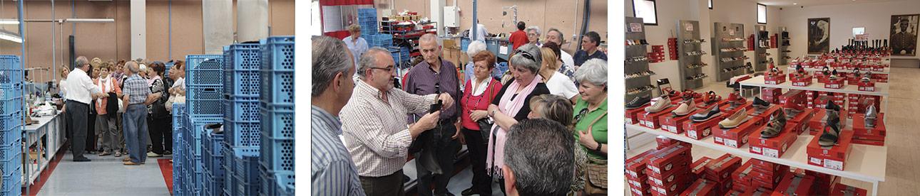 Visita a la fábrica de calzado y a la tienda oficial JOSE SAENZ